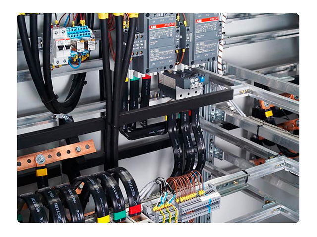осуществляет сборку щитов автоматики и АСУ ТП, панелей АВР, установок компенсации реактивной мощности и силовых...